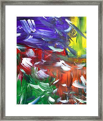 Abstract Series E1015ap Framed Print