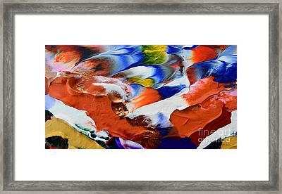 Abstract Series N1015al  Framed Print