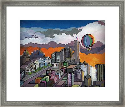 Abstract Sf 1 Framed Print by Timothy Hawkins