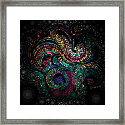 Lace Art Framed Print by Sheila Mcdonald