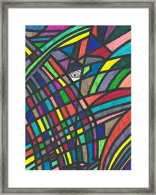 Abstract Sight Framed Print by Devrryn Jenkins