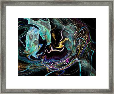 Abstract-spirit Framed Print by Patricia Motley