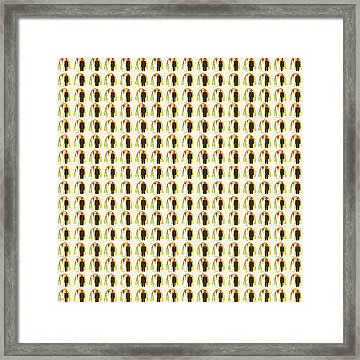 Abstract Square 109 Framed Print by Patrick J Murphy