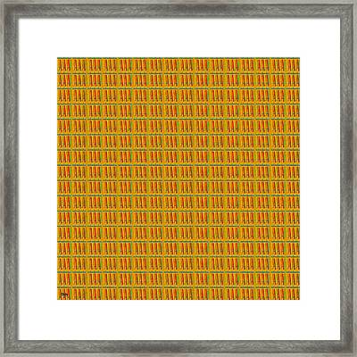 Abstract Square 93 Framed Print by Patrick J Murphy