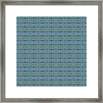 Abstract Square 96 Framed Print by Patrick J Murphy