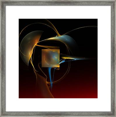 Abstract Still Life 012211 Framed Print