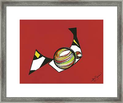 Abstract Still Life Framed Print