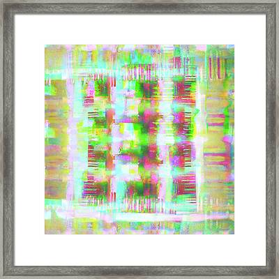 Abstract - Summer Picnic Framed Print