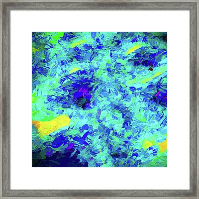 Abstract - Sunshine On Water Framed Print