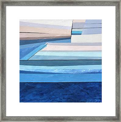 Abstract Swimming Pool Framed Print