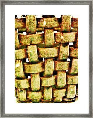 Abstract Texture Framed Print by Marsha Heiken
