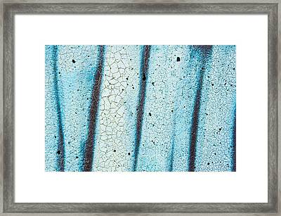Abstract Texture Framed Print by Tom Gowanlock