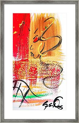 Abstract Thoughts  Framed Print by  Simone Fennell