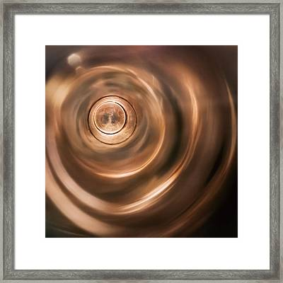Abstract Tones Framed Print