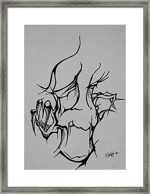 Abstract Tribal  Framed Print