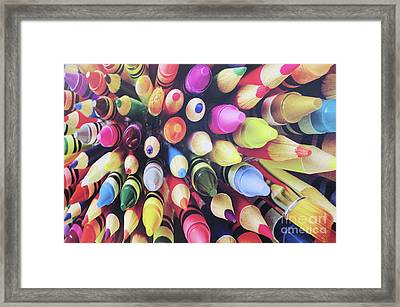 Abstract Two Framed Print