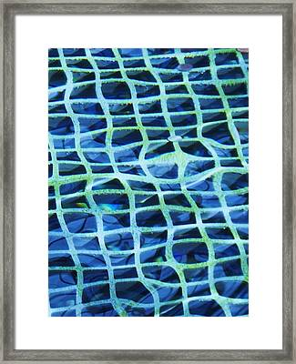 Abstract Underwater Framed Print by Eric  Schiabor