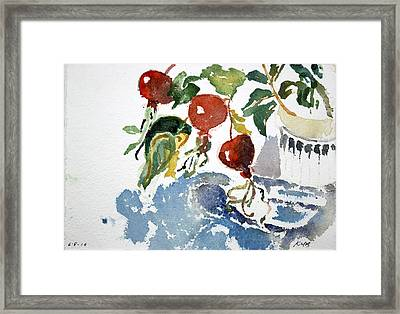 Abstract Vegetables 2 Framed Print
