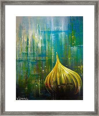 Abstract  Framed Print by Vesna Delevska