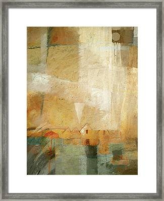 Abstract Vision Framed Print by Lutz Baar