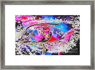 Abstract Visual 6 Framed Print