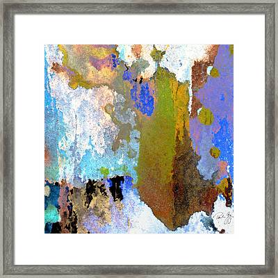 Abstract Wash 1 Framed Print