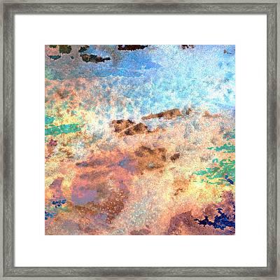Abstract Wash 2 Framed Print