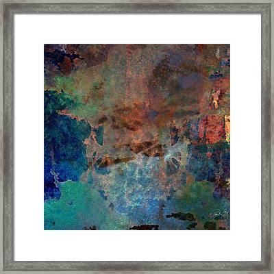 Abstract Wash 3 Framed Print