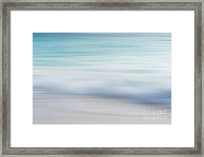 Framed Print featuring the photograph Abstract Wave Photograph by Ivy Ho