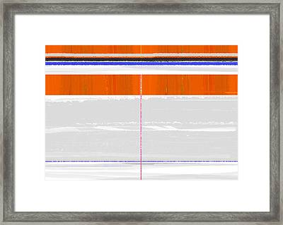 Abstract Way Framed Print