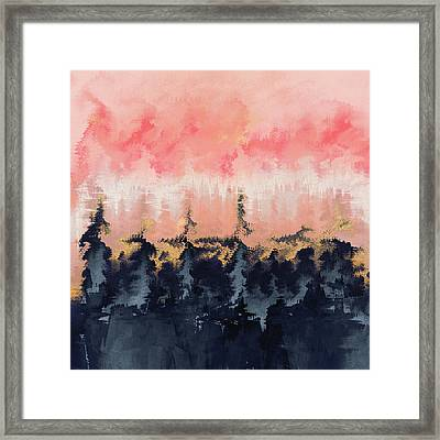 Abstract Wilderness Framed Print by Elisabeth Fredriksson