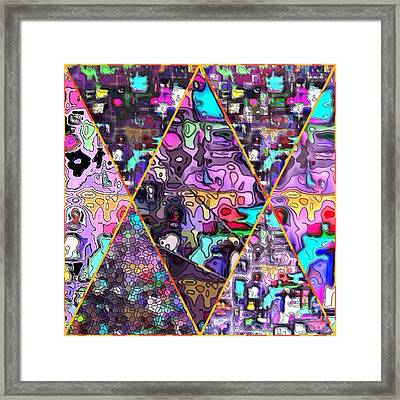 Abstract Windows Framed Print