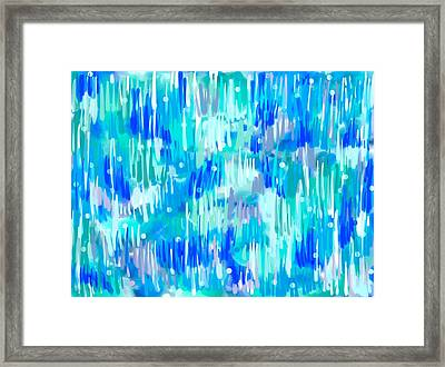 Abstract Winter Framed Print