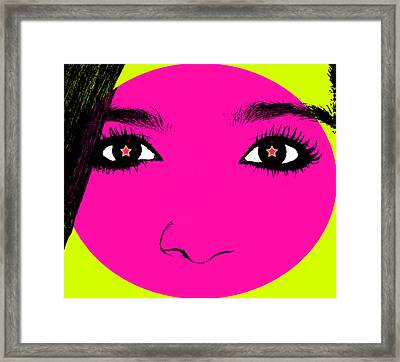 Abstract Youth Framed Print by Susan Leggett