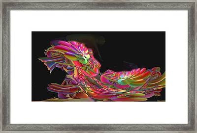 Abstract49 Framed Print by Julie Grace