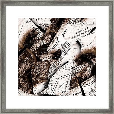 Abstracta 23 Strat No. 6 Framed Print