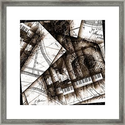 Abstracta 24 Cadenza Framed Print by Gary Bodnar