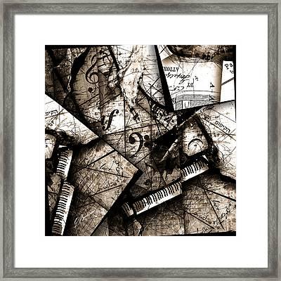 Abstracta 29 Coda Framed Print by Gary Bodnar