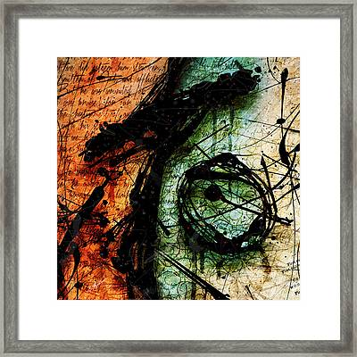 Abstracta_07 Sacrifice Framed Print