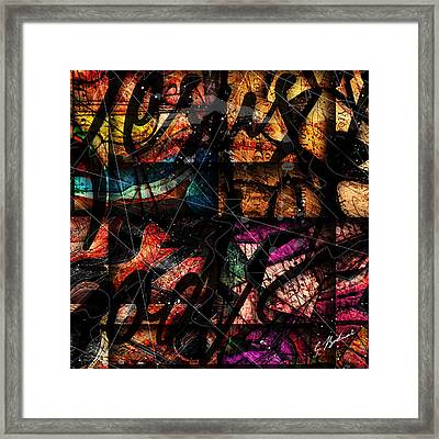 Abstracta_15 Nissi Framed Print by Gary Bodnar