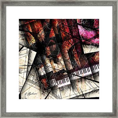 Abstracta_18 Opus I B Framed Print by Gary Bodnar