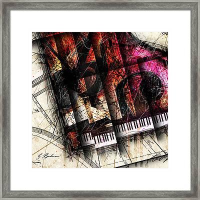 Abstracta_18 Opus I A Framed Print by Gary Bodnar