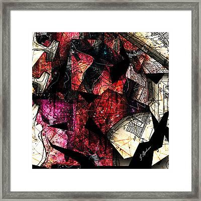 Abstracta_21 Stratavari Moderna Framed Print