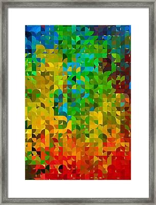 Abstracting Illusions Framed Print by Georgiana Romanovna