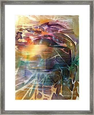 Cavern Travel Framed Print