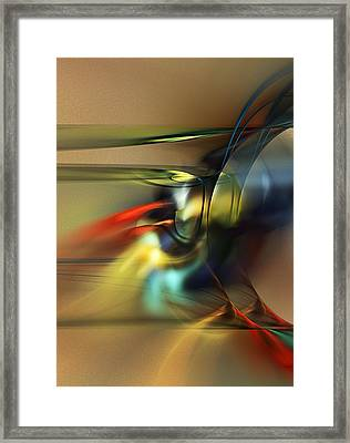 Abstraction 022023 Framed Print