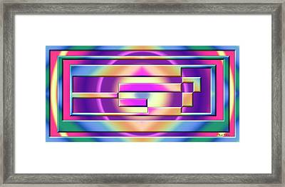 Abstraction 1 Framed Print