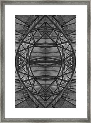Abstraction 2 Framed Print by Robert Ullmann