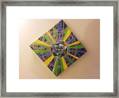 Abstraction 45 Framed Print