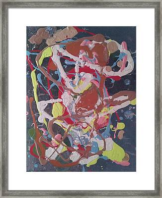Abstraction 48 Framed Print